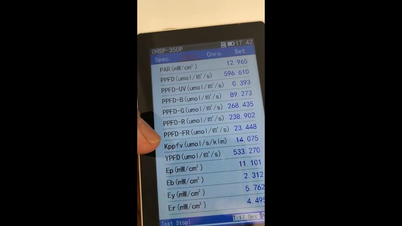 240watt Samsung LM561C S6 3000K/4000K mixed led grow light strip