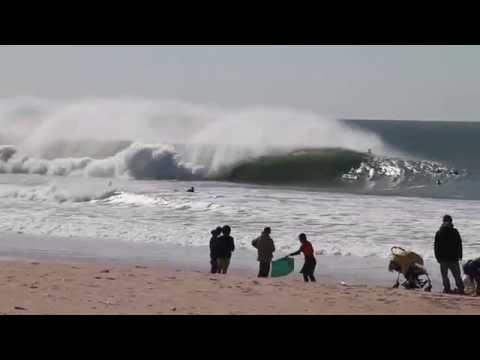 Surfing Peniche   SUPERTUBOS, MOLHO LESTE, BALEAL, CONSOLAÇÃO   With aerial drone shots