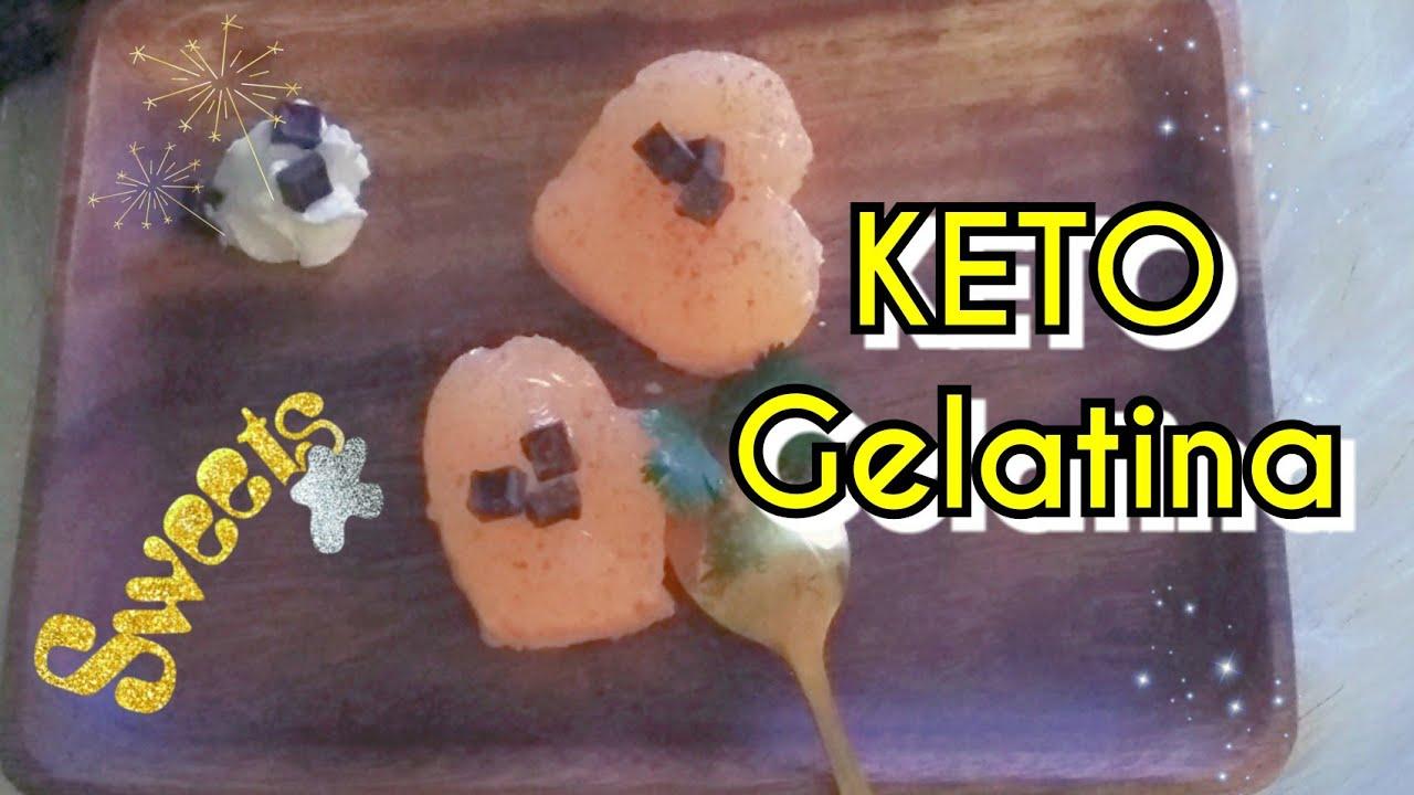 Gelatina dieta low carb