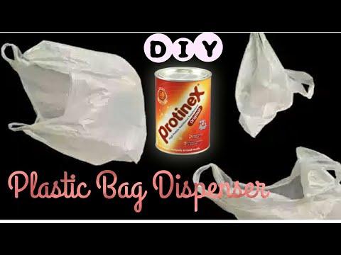 Diy Plastic Bags Dispenser Make Plastic Bag Organizer