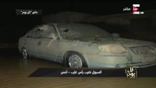 عمرو أديب يناشد القوات المسلحة المصرية بالتدخل لحل أزمة السيول