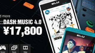 BLU Dash Music 4.0 - Android v4.2 Smartphone