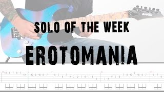 Solo Of the Week: 11 Dream Theater - Erotomania tab
