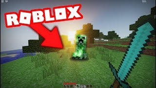 Real Minecraft real en ROBLOX...