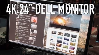 "Dell 24"" 4K UHD Ultrasharp UP2414Q  Monitor Review"