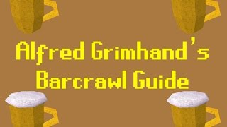 Alfred Grimhand's Barcrawl Guide