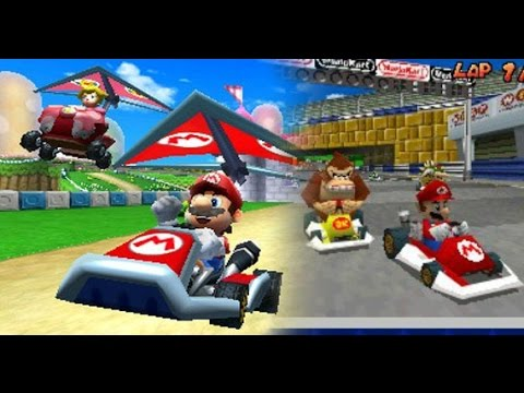 mario kart 7 comparison to mario kart ds prt 2 hdgp youtube. Black Bedroom Furniture Sets. Home Design Ideas