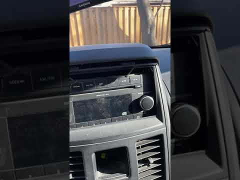 How To Remove And Install Aftermarket Radio In 2008-2010 Dodge Grand Caravan And Town And Country