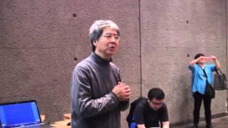 2015年第65回モダンアート展ギャラリートーク:村上保