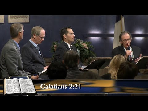 """Galatians - """"Boasting In The Cross"""" #14 - Central Study Hour"""