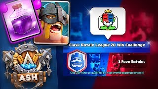 CLASH WITH ASH I accept your 20 WIN CHALLENGE