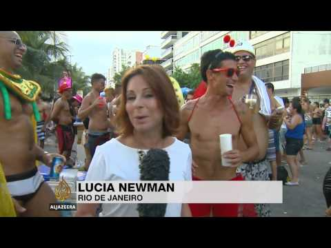 Rio carnival celebrates city's 450-year history