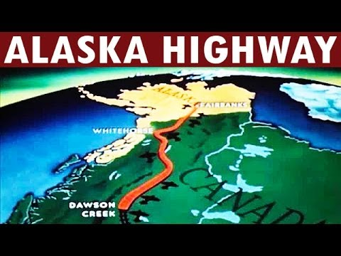 Construction of the Alaska Highway | 1942 | US Army Engineers Documentary