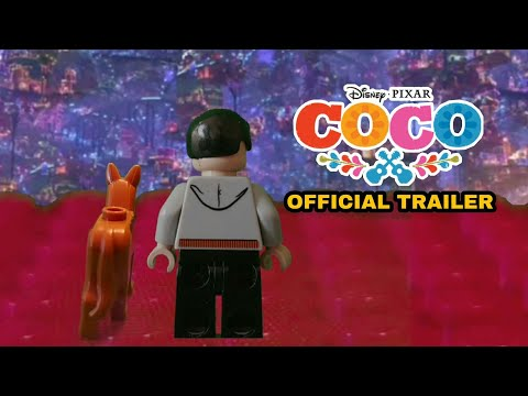 Coco Official Trailer In LEGO