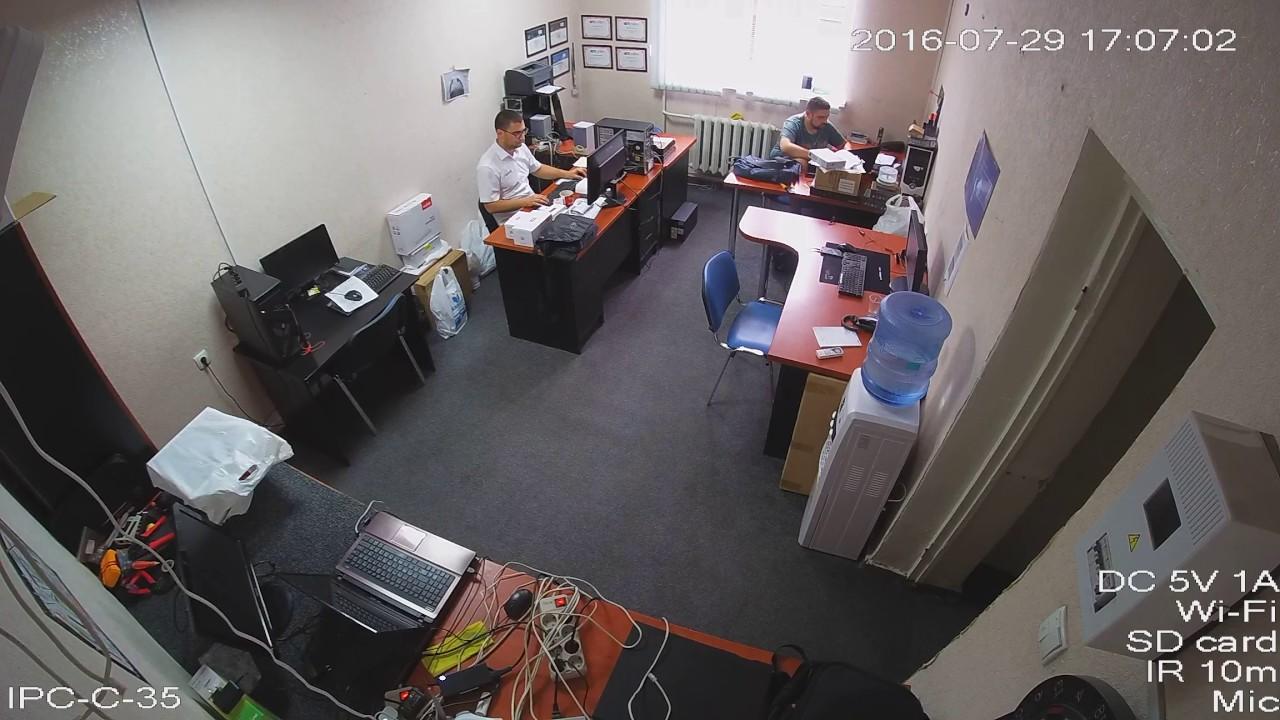 Wi Fi Ip камера 3mp Dahua Dh Ipc C35 Day Youtube