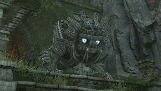 Shadow of the Colossus PS4: Colossus #14 Cenobia Boss Fight