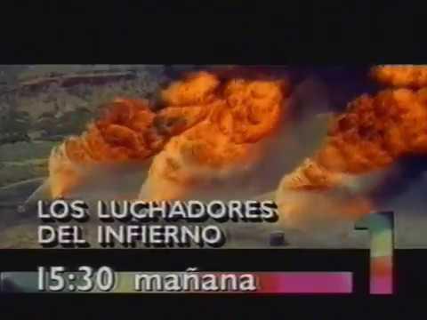 Promo Los luchadores del infierno (19/03/1995) Película emitida por TVE1