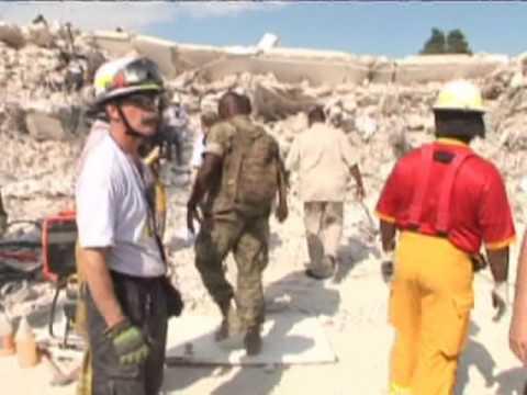 Haiti Earthquake: Ban Ki-moon visits the ruins of the UN's mission Headquarters