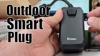 Benuo Outdoor WiFi Smart Plug, unboxing, setup and review