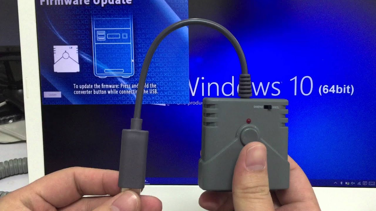 BROOK PS2 to PS3/PS4 Converter Firmware update - YouTube