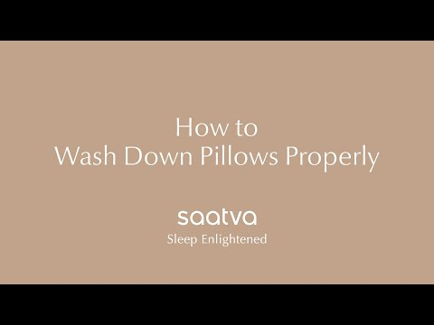 How To Wash Your Pillows Properly | Saatva