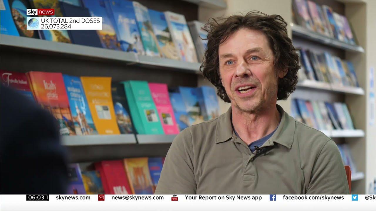 Julian Abbott interviewed by Ivor Bennett from Sky News