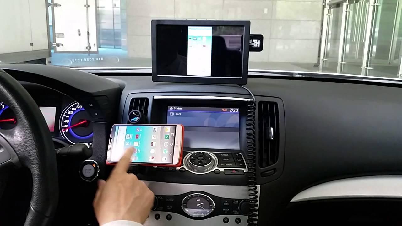 Monicar-Smart Mirroring Monitor(LG-G3)