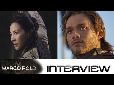 Marco Polo Staffel 2: Interview mit Michelle Yeoh und Lorenzo Richelmy der Netflix-Serie