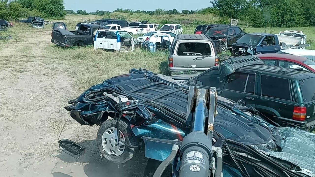 Country Time Car Crushing