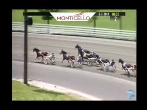 Horrific Horse Racing Accident at Raceway June 2013 - YouTube