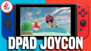 Switch D Pad Joy Con Coming From Hori! Very Weird Though..