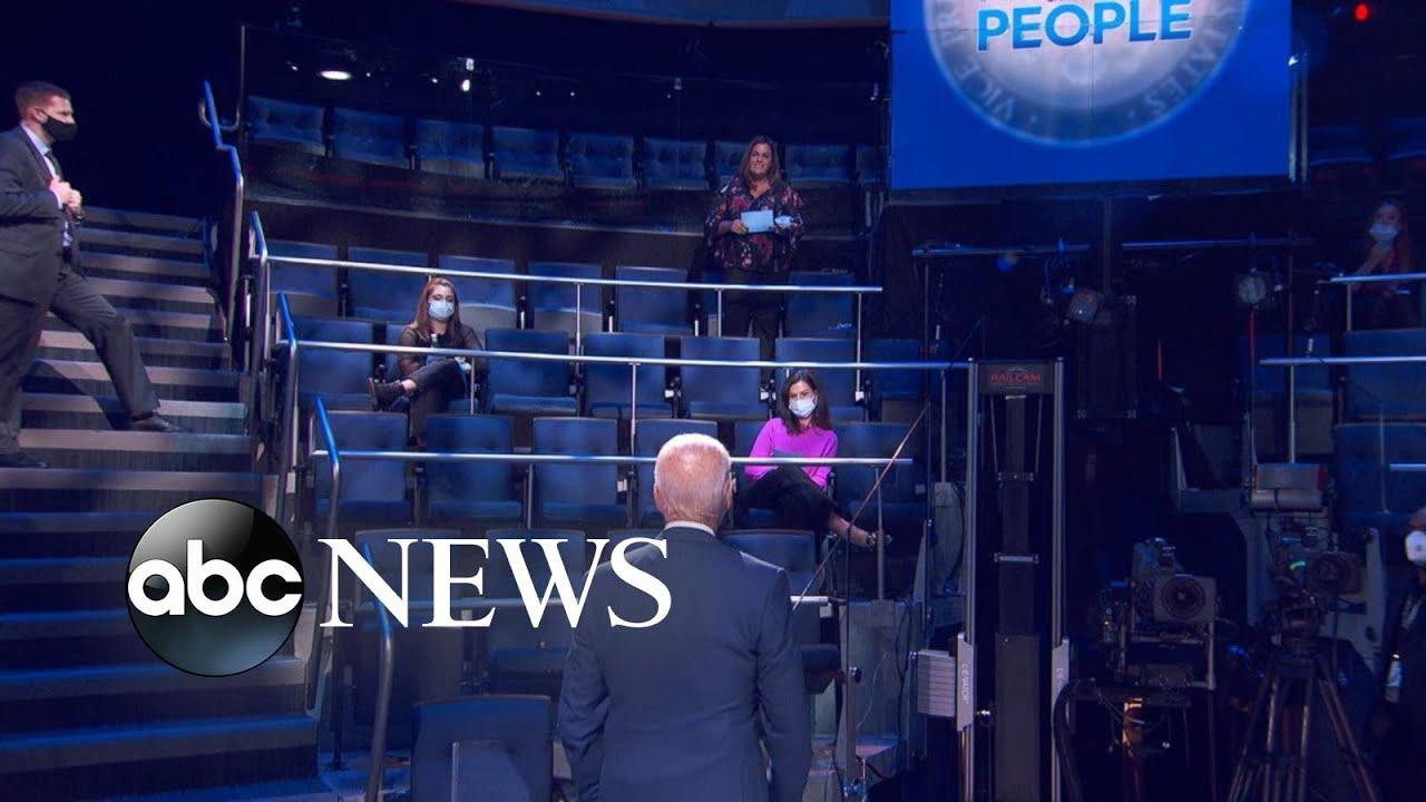 ABC News' Powerhouse Politics team breaks down the town hall with Joe Biden