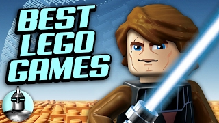 Top 10 LEGO Video Games YOU Should Play ft. The Jovenshire Video