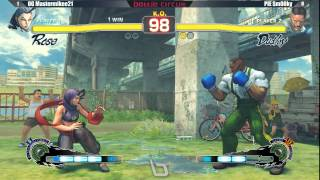 Next Level Battle Circuit 134 - USF4 - OG Mastermikee21 (Rose) vs PIE Smug (Dudley)
