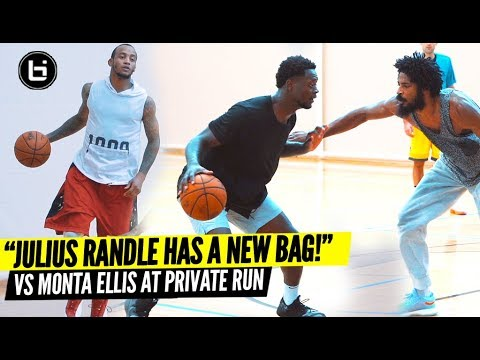 Julius Randle Shows Off Expanded Game at Private Run vs