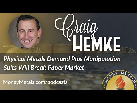 Physical Metals Demand Plus Manipulation Suits Will Break Paper Market