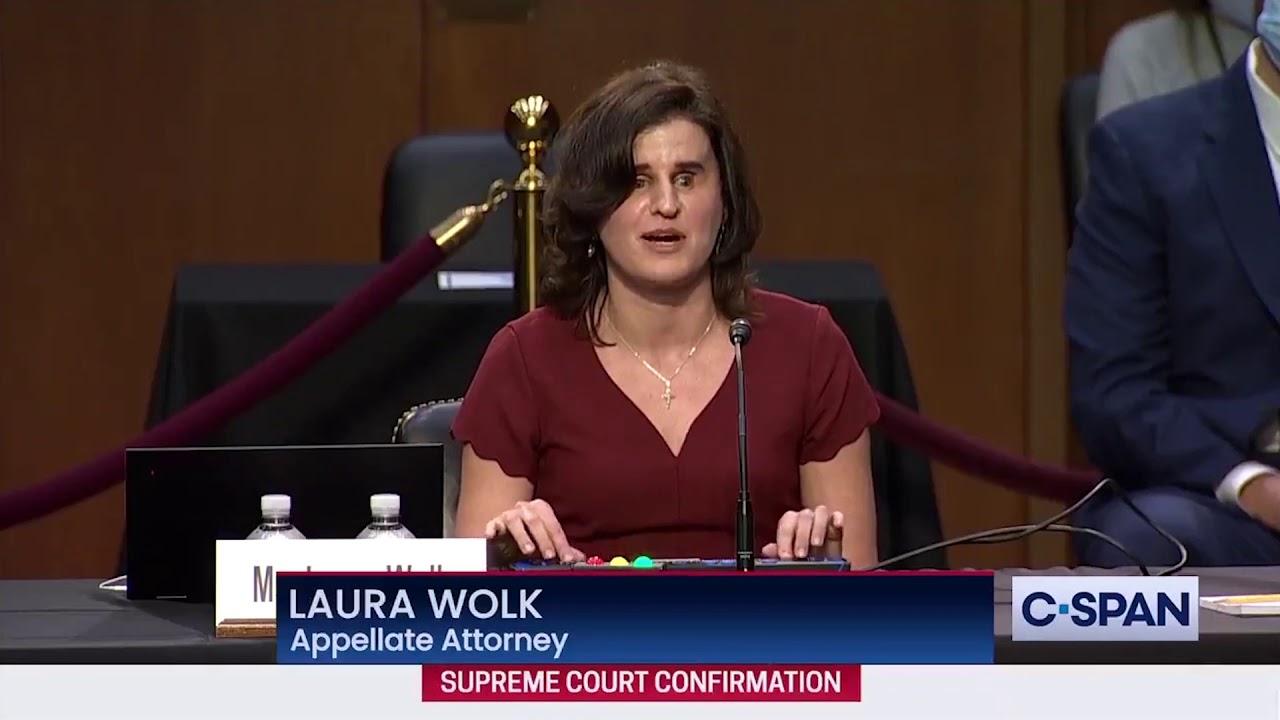 Inspiring Testimony of Clerk Mentored by Amy Barrett
