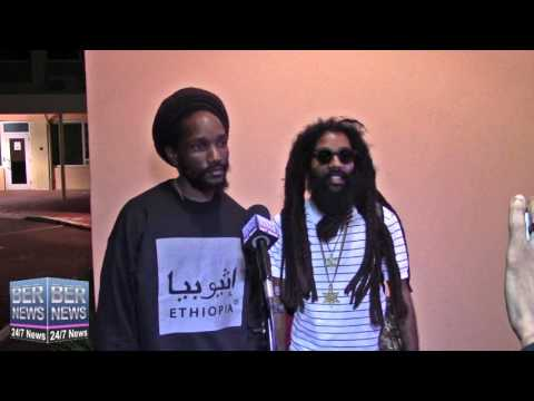 Kabaka Pyramid & Yaadcore Arrive In Bermuda, April 7 2016