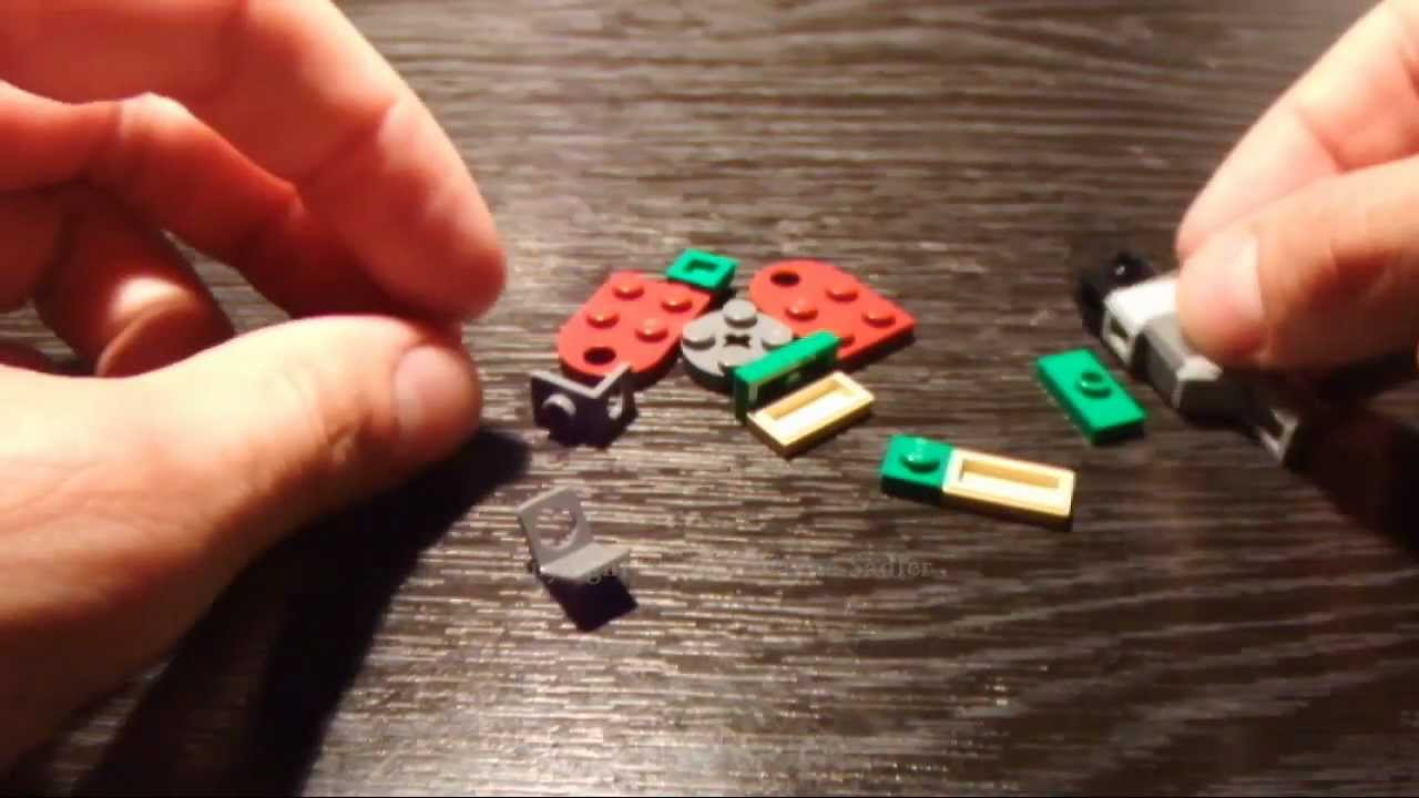 Lego Star Wars Set 7958 Micro Boba Fett's Slave 1 Ship Build and Review in  HD