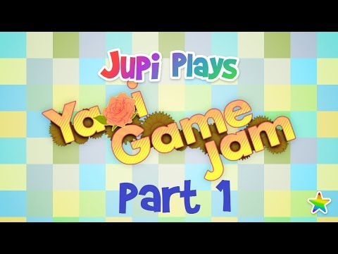 Jupi Plays Indie Games: ALL THE INDIE GAMES [Yaoi Game Jam]