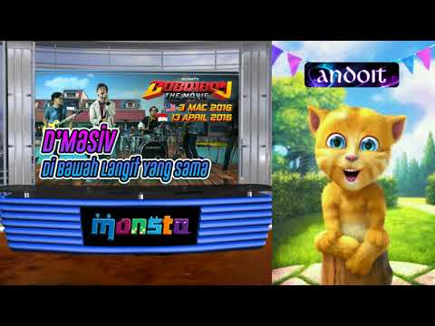 OST BoBoiBoy The Movie - Talking Ginger - D'MASIV: Dibawah Langit Yang Sama