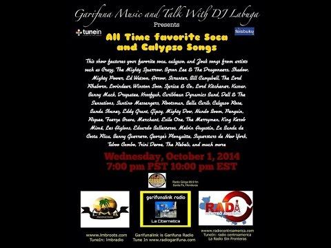 DJ Labuga Presents All Time Favorite Soca & Calypso Music