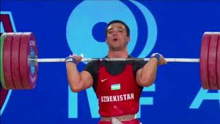 Men's 94 kg A Session Clean & Jerk - 2017 IWF Weightlifting World Championships (WWC)