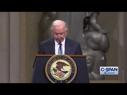 Word for Word: Jeff Sessions Praises Rod Rosenstein (C-SPAN)