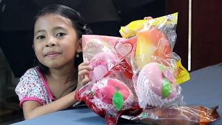 (TUTUP)unboxing squishy licensed dan giveaway ke 5 khusus indonesia 2017