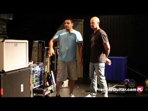 Rig Rundown - Periphery's Misha 'Bulb' Mansoor, Jake Bowen, Mark Holcomb, and Adam Getgood