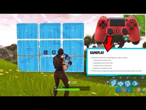 """Fortnite """"fixed"""" the EDIT Button on Console"""