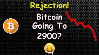 REJECTION! BITCOIN GOING TO 2900 NEXT WEEK? 🔴 LIVE | CRYPTO NEWS