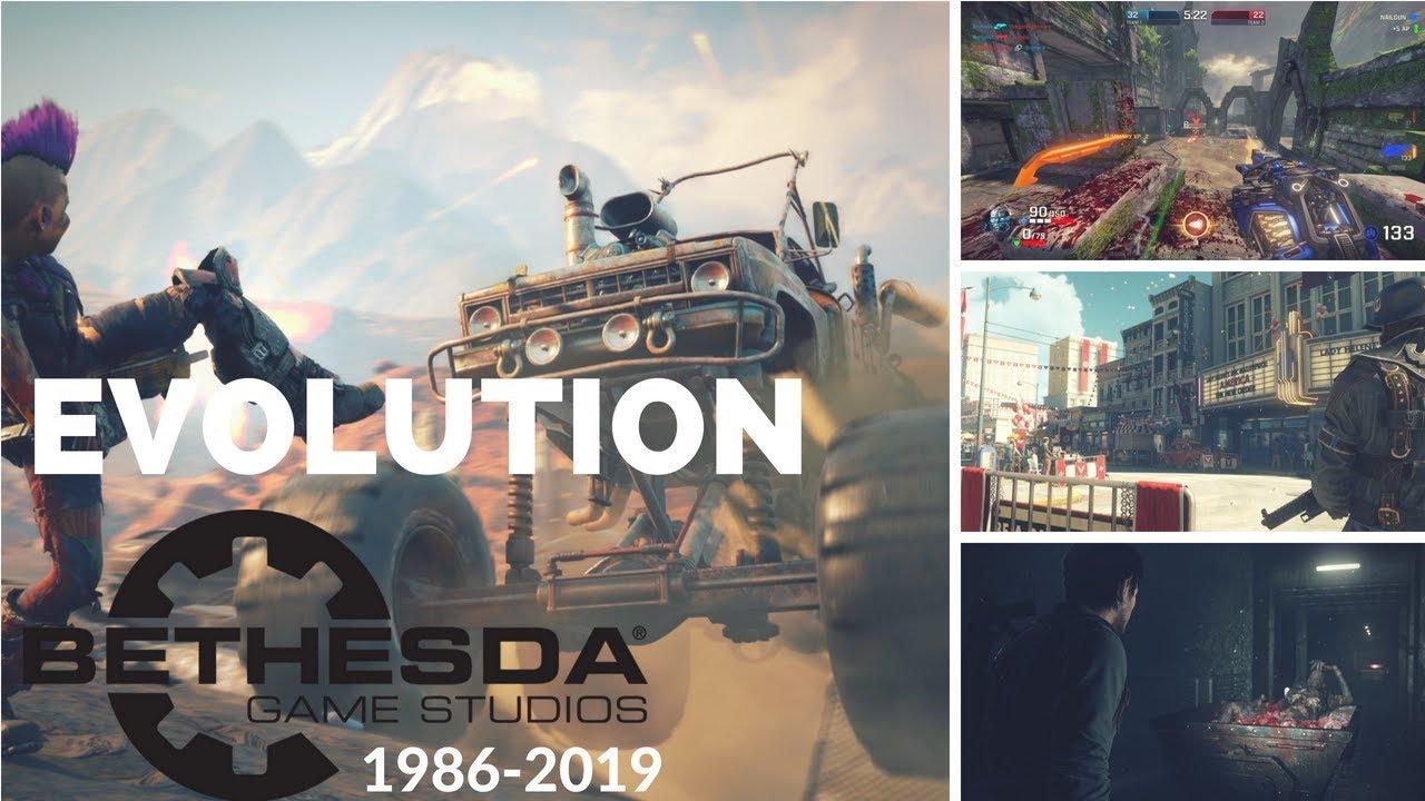 Download Evolution of Bethesda Softworks Games 1986-2019