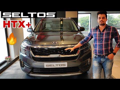 kia-seltos-htx+-2019-walkaround-|-seltos-2019-top-model-features-interior-and-exterior